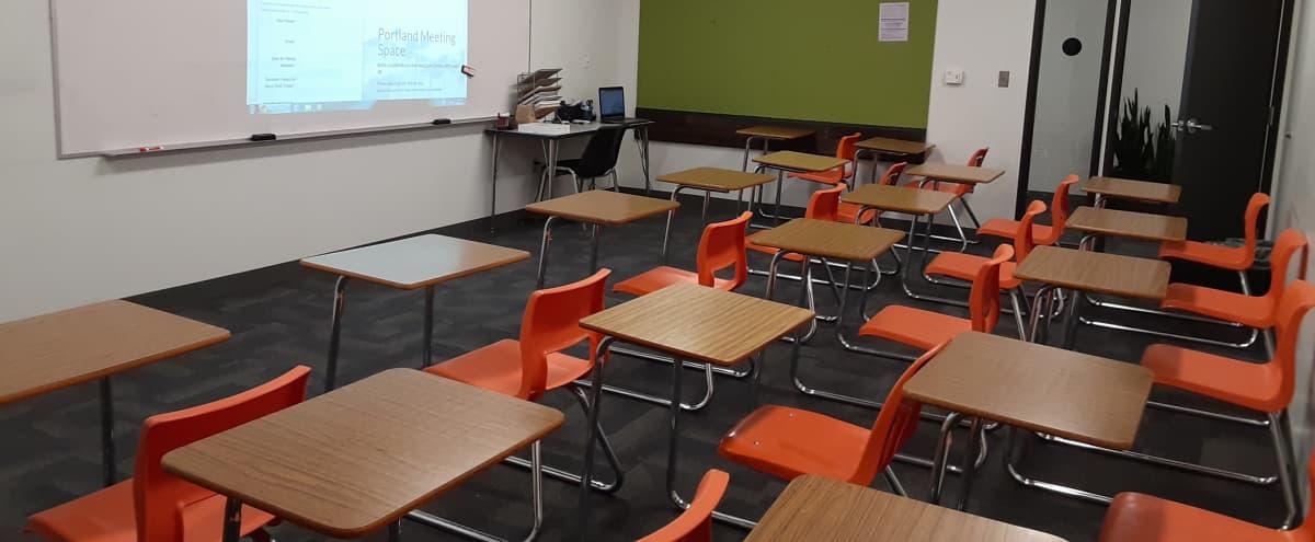 Classroom with Individual Desks | #10 in Portland Hero Image in Northeast Portland, Portland, OR