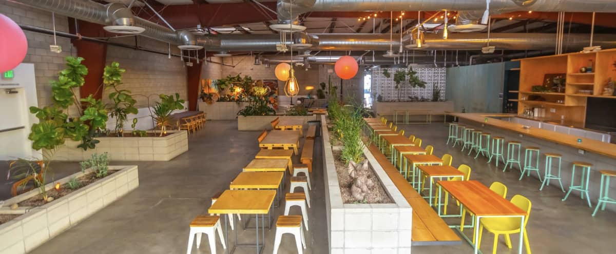 Multi-Use Urban Oasis in Arts District DTLA ~ Event Space with Yoga Studio, Restaurant, and Healing Lounge in Los Angeles Hero Image in Downtown Los Angeles, Los Angeles, CA