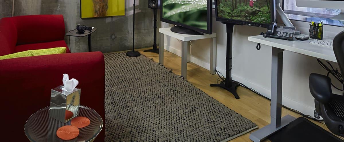 SOMA Loft Edit Suite #2 / Private Work Station in San Francisco Hero Image in SoMa, San Francisco, CA