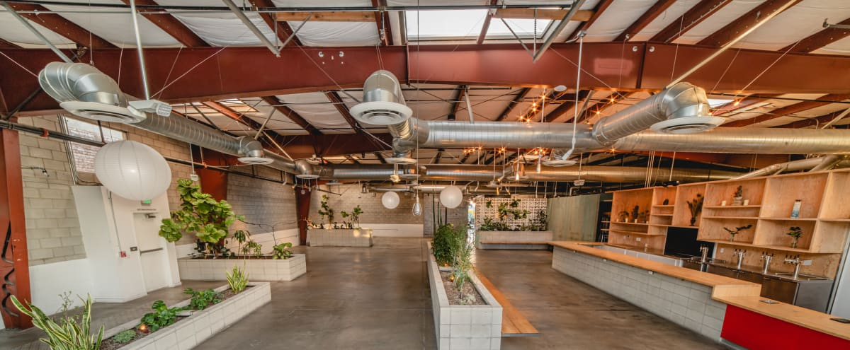 Multi-Use Urban Oasis in Arts District DTLA ~ Film Space with Yoga Studio, Restaurant, Murals and Healing Lounge in Los Angeles Hero Image in Downtown Los Angeles, Los Angeles, CA