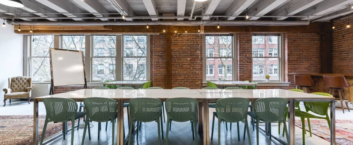 Upper Floor Loft Meeting Space in Seattle Hero Image in Downtown, Seattle, WA