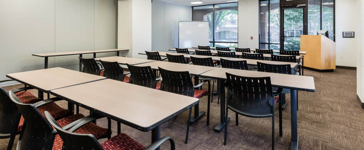 Classroom Style Conference Space (CR A, Room 122A) in Fairfax Hero Image in undefined, Fairfax, VA