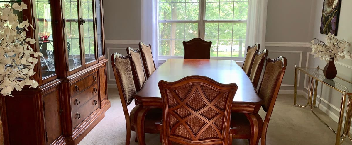 Host your Meeting or Retreat in this Upscale, Urban Home. Adjacent to National Harbor. Convenient to DC, MD and N VA.  Great River Views! in Fort Washington Hero Image in undefined, Fort Washington, MD