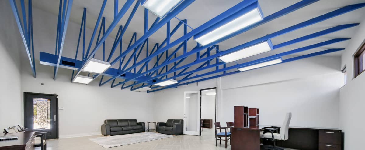 Meeting Space in Memorial Park Area Office Building in Houston Hero Image in Rice Military, Houston, TX