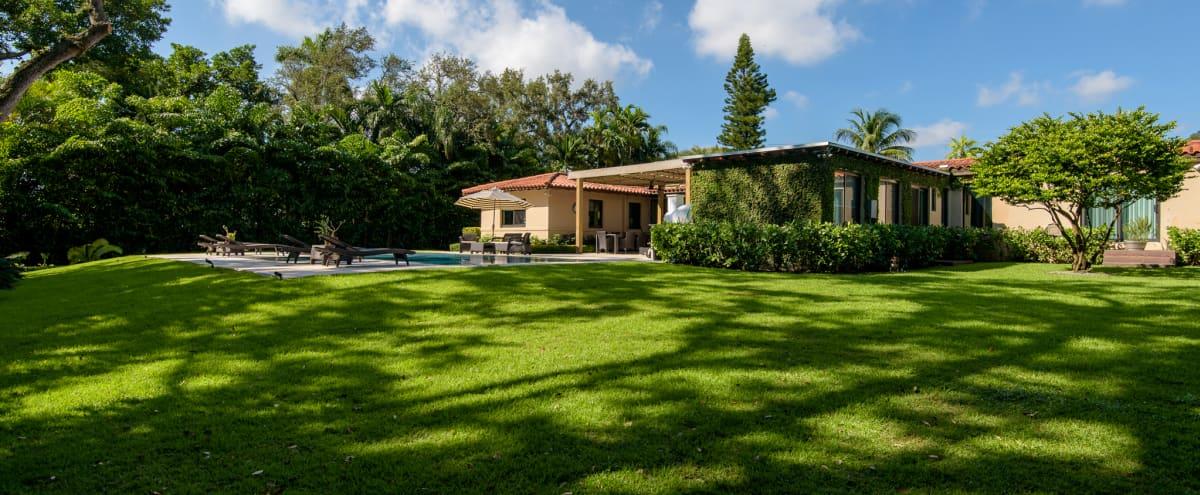 Miami chic home with big private yard in miami Hero Image in undefined, miami, FL