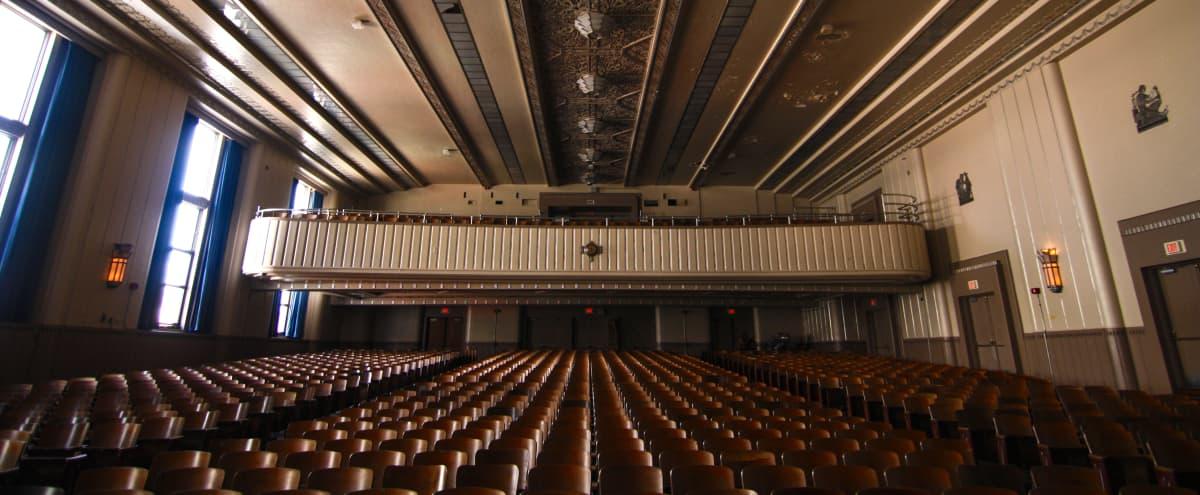 Historic Auditorium with Art Deco Details  | Film + Photo Shoots in Philadelphia Hero Image in East Passyunk Crossing, Philadelphia, PA