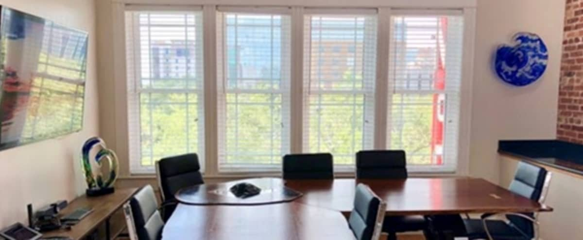 Fully-Equipped, Conference Room in Beautiful Co-Working Space in St. Petersburg Hero Image in Central Arts District, St. Petersburg, FL