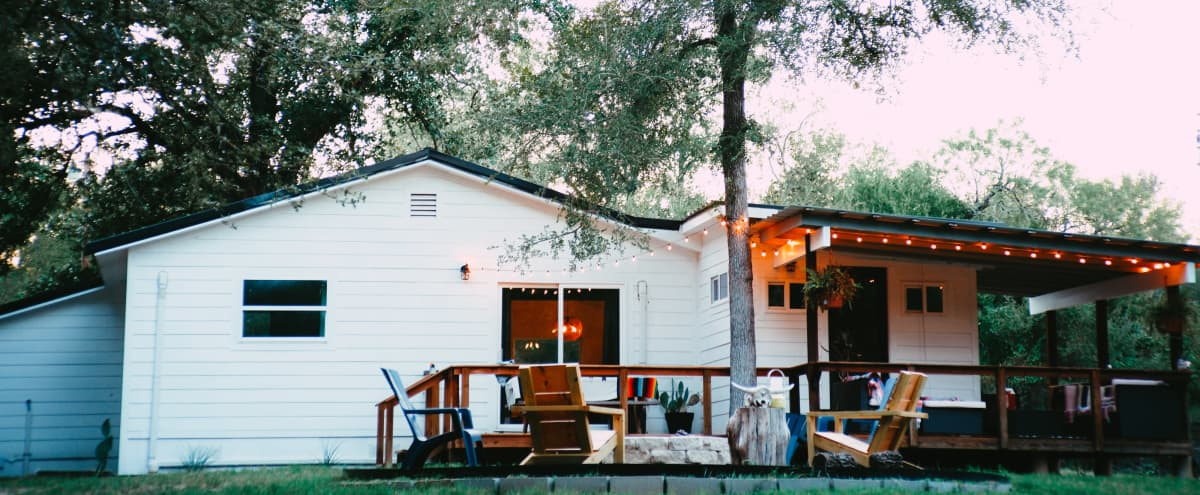 Ranch Home with a Pool in Cedar Creek Hero Image in undefined, Cedar Creek, TX