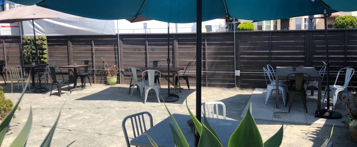Secluded Outdoor Patio in Los Angeles Hero Image in South Los Angeles, Los Angeles, CA