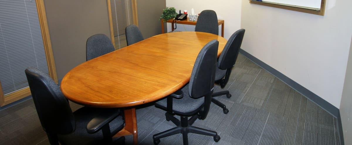6-Person Conference Room in Issaquah Hero Image in North Issaquah, Issaquah, WA