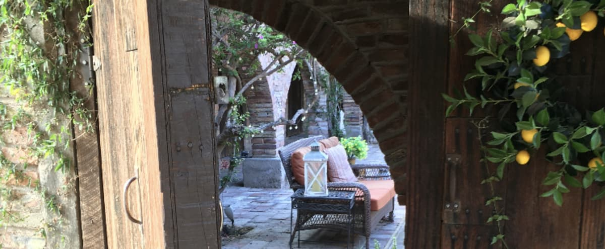 Authentic rustic hacienda with spanish courtyard in Surprise Hero Image in Waddell Haciendas, Surprise, AZ
