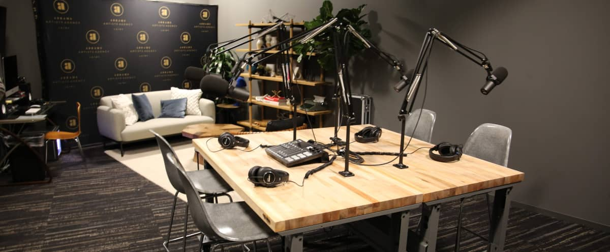 Soundproof Podcast & Production Studio - Free In-House Equipment in Los Angeles Hero Image in Central LA, Los Angeles, CA