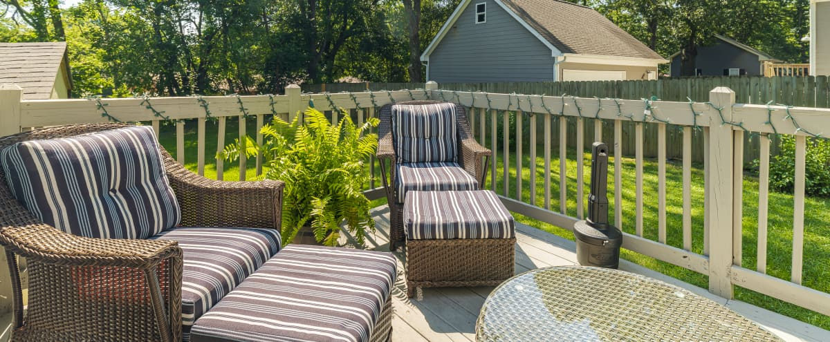 Cozy Home with Huge Backyard and Beautiful Patio in College Park Hero Image in undefined, College Park, GA