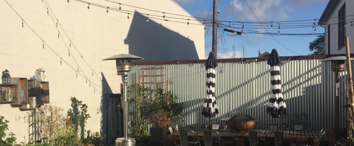 Amazing Urban Oasis Yard in Oakland Hero Image in Coliseum Industrial, Oakland, CA