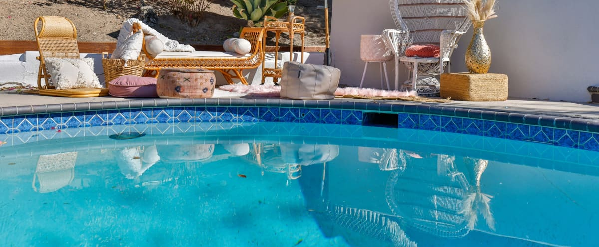 California Bohemian Pool Oasis in West Hills Hero Image in West Hills, West Hills, CA