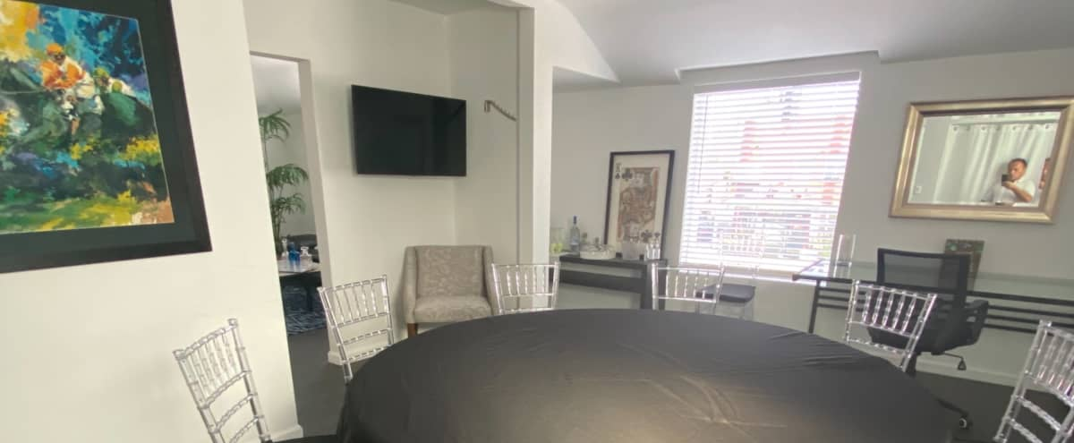 Roomy Office Studio with Outdoor Patio in West Hollywood Hero Image in Central LA, West Hollywood, CA
