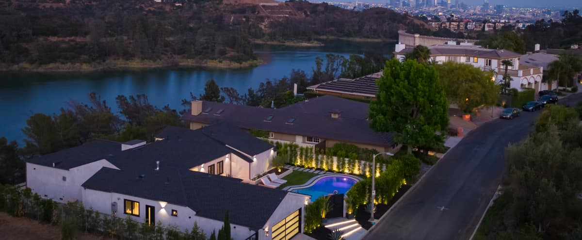 Hollywood Hills Modern House ft Direct View of Hollywood Sign in Los Angeles Hero Image in Central LA, Los Angeles, CA
