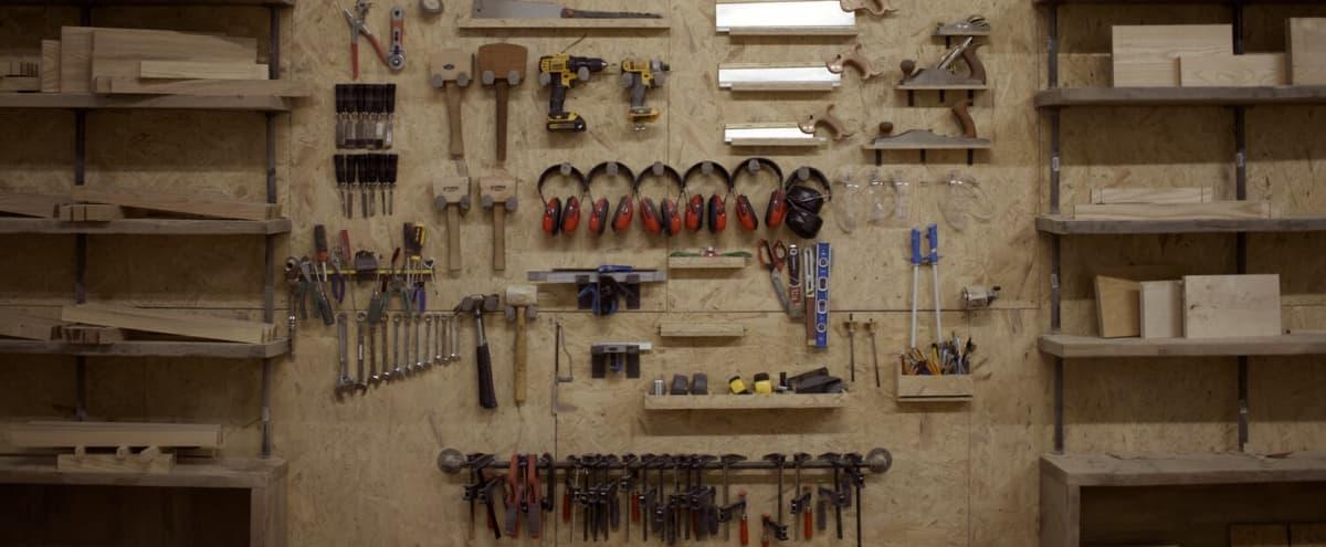 Industrial loft woodworking studio downtown Hoboken in hoboken Hero Image in undefined, hoboken, NJ