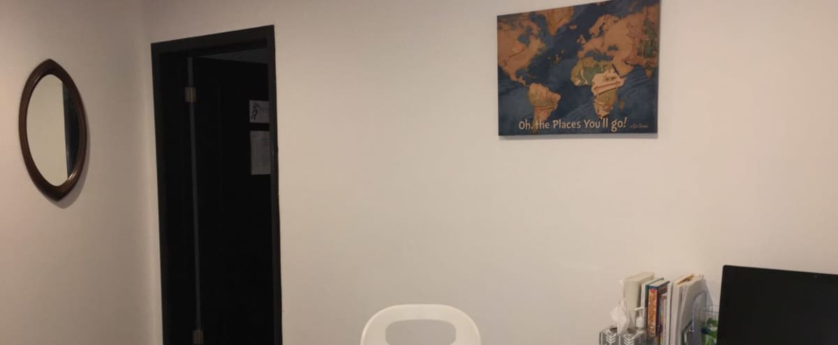 Small conference space and Therapy room in Hermosa Park area in Chicago Hero Image in Belmont Central, Chicago, IL