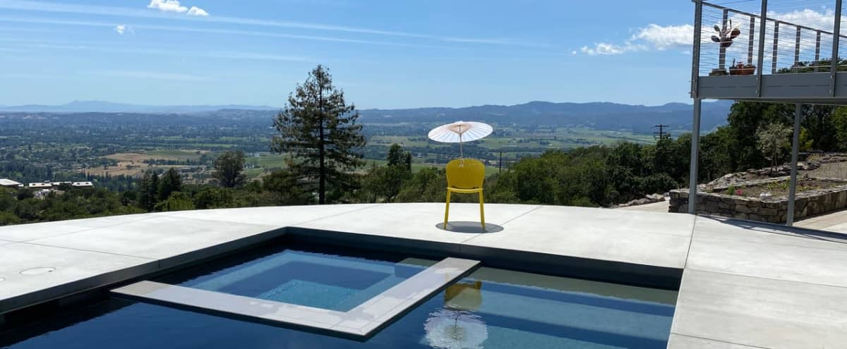 Outdoor Space in the Wine Country with an Unobstructed View of San Francisco in Napa Hero Image in undefined, Napa, CA
