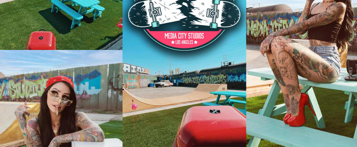 Unique Retro Yard With Halfpipe! *SPECIAL DEAL THIS MONTH! * in Boyle heights Hero Image in Central LA, Boyle heights, CA