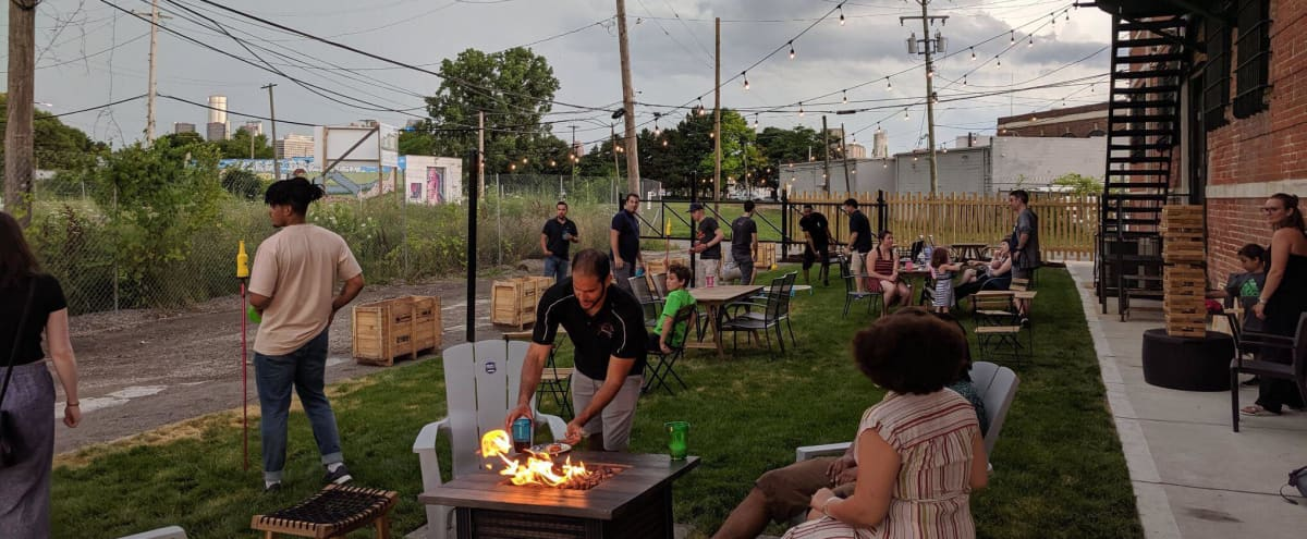 Outdoor Event Space Near Eastern Market in Detroit Hero Image in McDougall - Hunt, Detroit, MI
