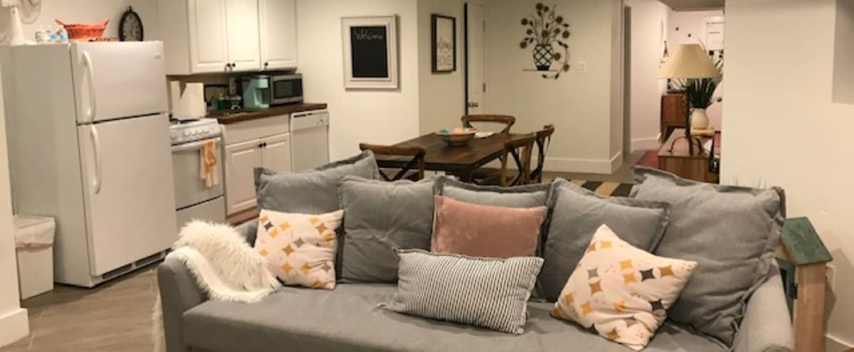 Cozy, well furnished, modern apartment with lots of space and extras! in washington Hero Image in Columbia Heights, washington, DC