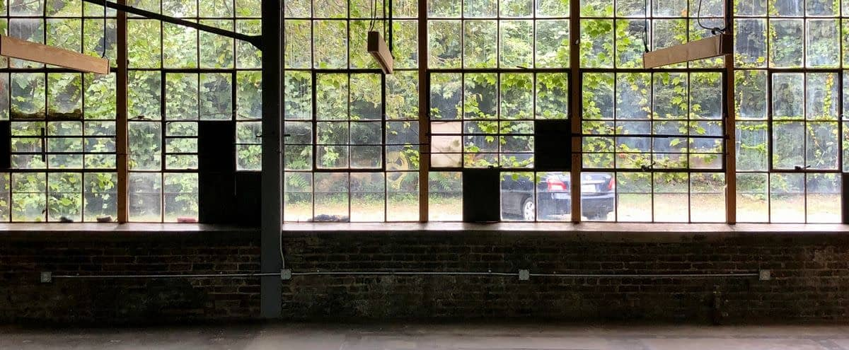 West Midtown - 2000 sq ft Daylight/Industrial Studio + access to 12 acre exterior campus at The Goat Farm Arts Center in Atlanta Hero Image in Blandtown, Atlanta, GA