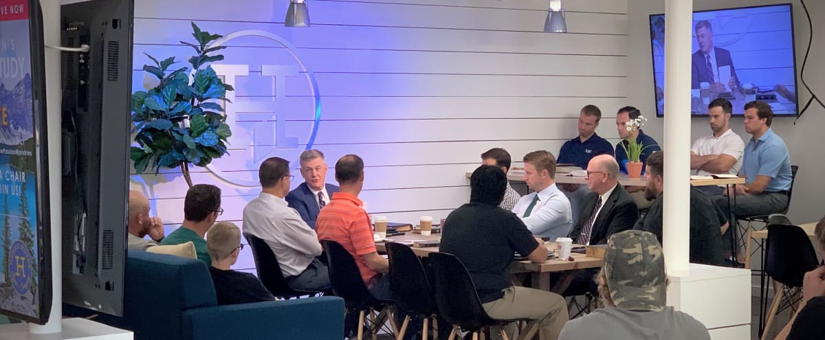 Spacious & Modern SMU Area Coffee Shop with Great Patio Perfect for Off Site Meetings in Dallas Hero Image in Northeast Dallas, Dallas, TX