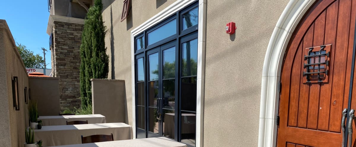 Outdoor Patio for Small Meetings in San Carlos Hero Image in undefined, San Carlos, CA
