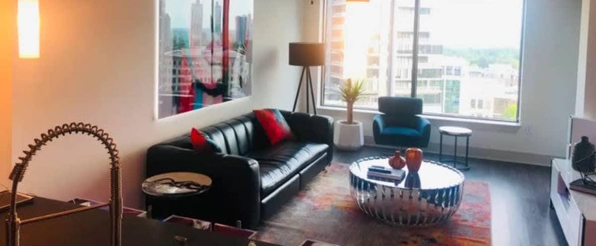 Luxury Condo with Skyline Views Perfect for Photography in Atlanta Hero Image in Buckhead, Atlanta, GA