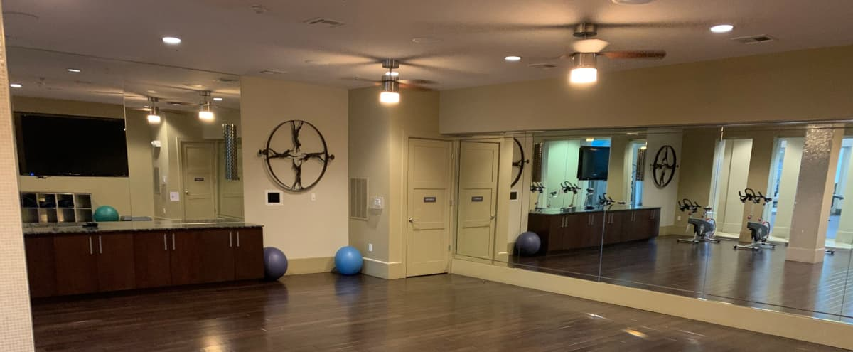 Open Yoga Space Perfect for Group Workouts/ Yoga Sessions! in Arlington Hero Image in Waverly Hills, Arlington, VA