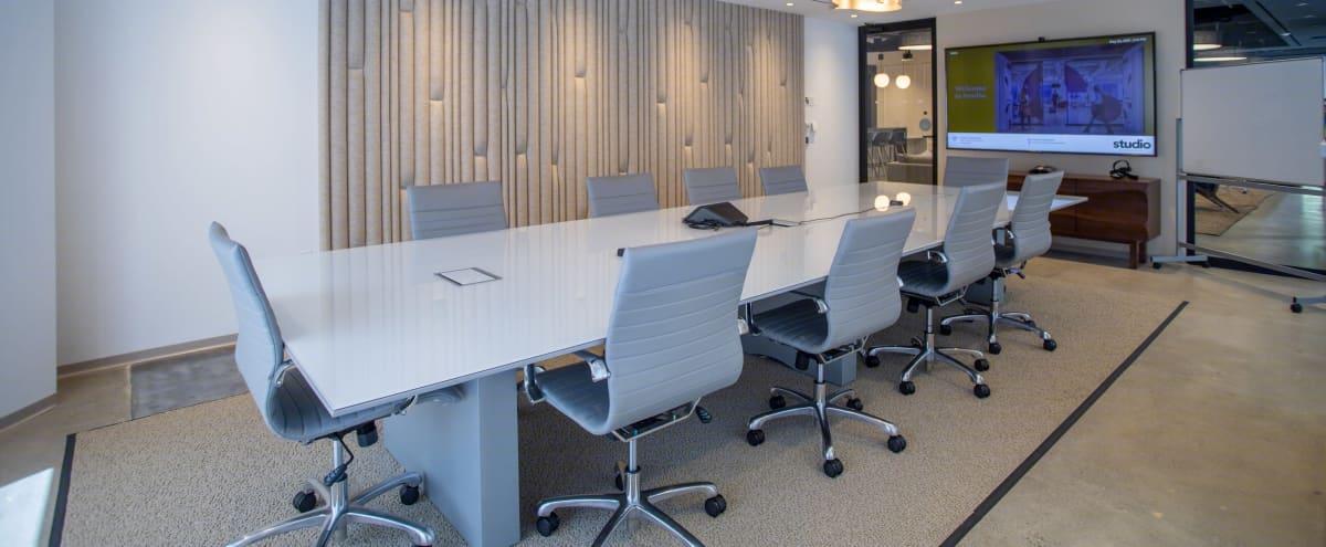 Beautiful Board Room with AV Setup in San Francisco Hero Image in Financial District, San Francisco, CA