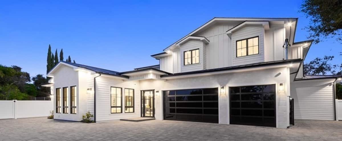 Modern Cape Cod Mansion in Encino Hero Image in Encino, Encino, CA