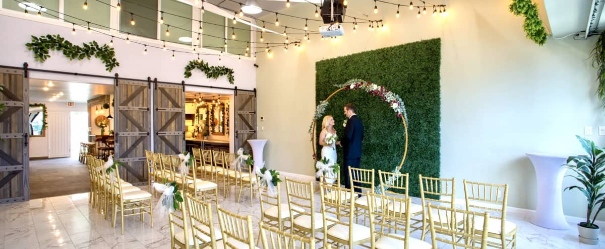 Beautifully Curated Rustic Boho Wedding Event Studio with Reception Hall, Bar/Lounge and Gorgeous Tented Patio in BURBANK Hero Image in undefined, BURBANK, CA