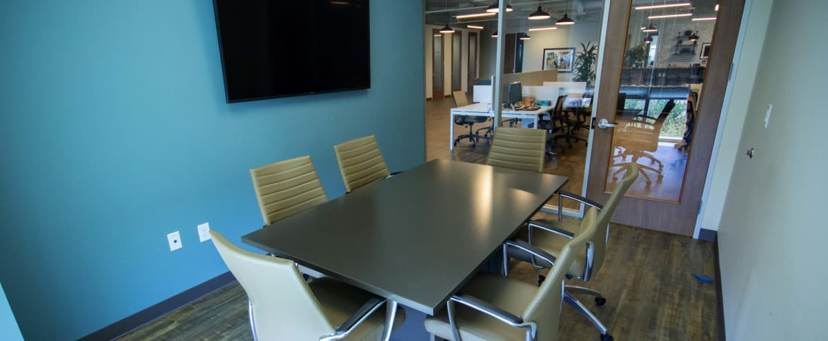 Private Meeting Room with Natural Light in Houston Hero Image in Wortham Grove, Houston, TX