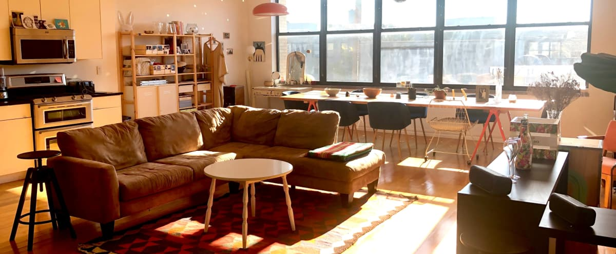 Bright and Spacious loft in Bushwick in BROOKLYN Hero Image in Bushwick, BROOKLYN, NY