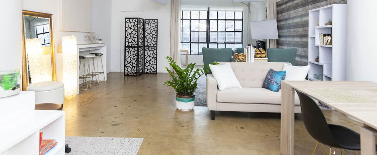 Versatile DTLA Studio Loft with Video-Ready Interview Set in Los Angeles Hero Image in Central LA, Los Angeles, CA