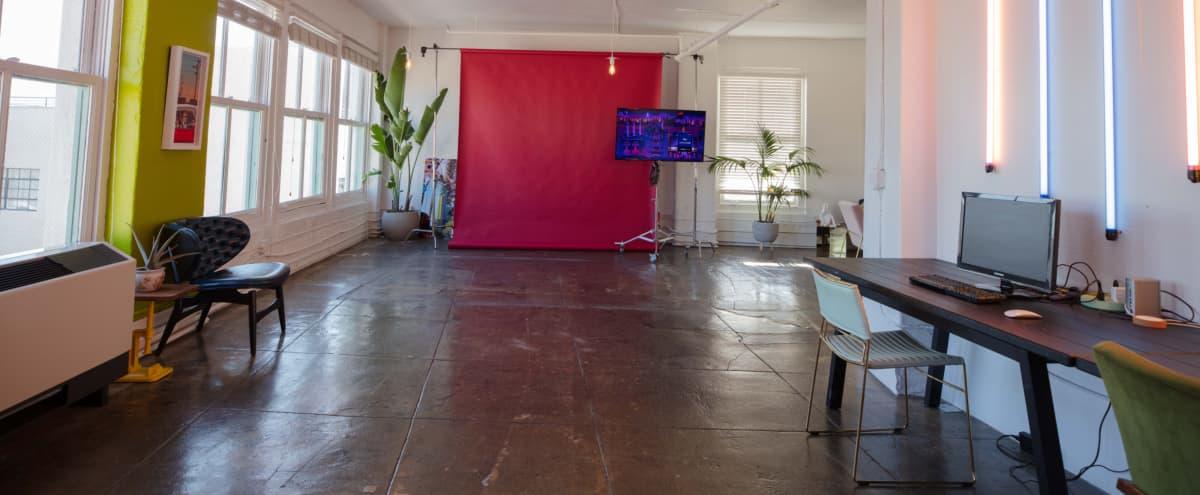 Hip Art Deco style Downtown Photo Studio in Los Angeles Hero Image in Central LA, Los Angeles, CA