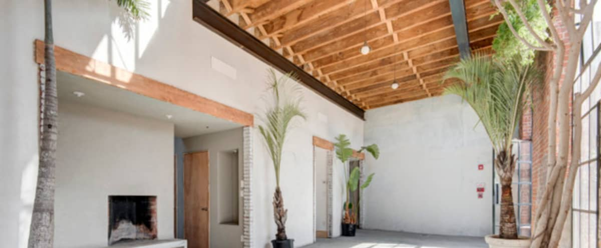 Photo & Event Studio with Private Courtyard in Brooklyn Hero Image in East Williamsburg, Brooklyn, NY