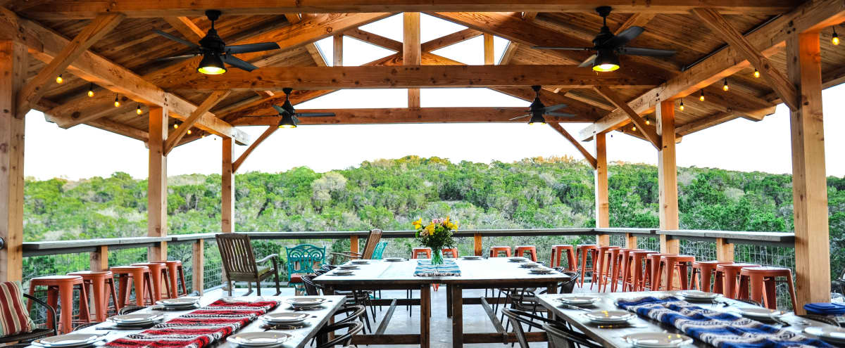 Pavilion Event Space: Amazing Hill Country Views! in Dripping Springs Hero Image in undefined, Dripping Springs, TX