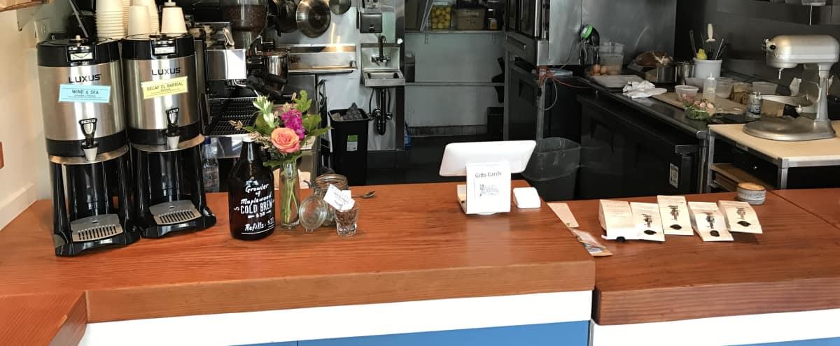 Fun Vibrant Coffee Shop in Potrero Hill in San Francisco Hero Image in Potrero Hill, San Francisco, CA
