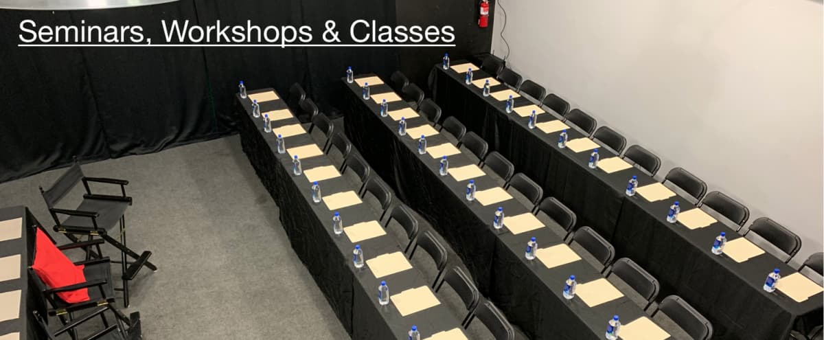 Professional private workshop space with additional breakout rooms available and private parking in Burbank Hero Image in undefined, Burbank, CA