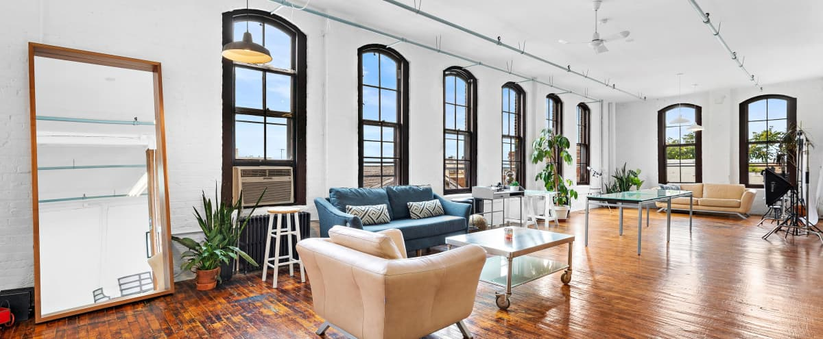 Spacious Converted Loft- Tons of natural light in Newark Hero Image in North Ironbound, Newark, NJ