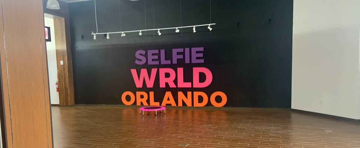 Amazing, Creative, and Large Event Space inside Selfie Wrld Orlando in Orlando Hero Image in undefined, Orlando, FL