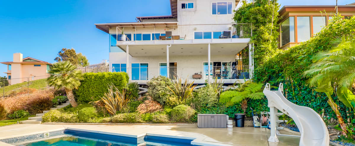 Home with a spectacular view of the Pacific Ocean, of Mission Bay and of Ocean Beach. in San Diego Hero Image in Point Loma Heights, San Diego, CA