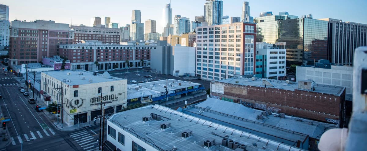 Skyline Roof top 12,000 sf with DTLA views in los angeles Hero Image in Central LA, los angeles, CA