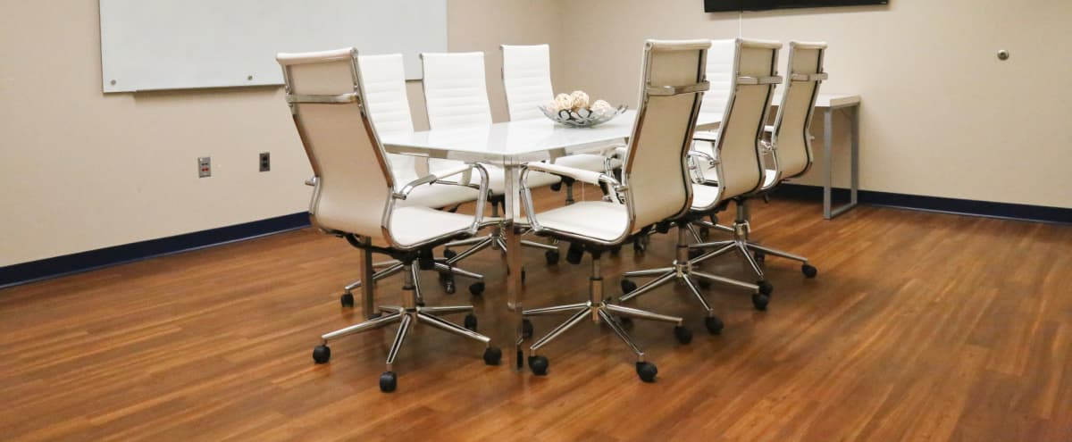 Intimate, 7 Person Full Amenity Meeting Room in Beltsville Hero Image in undefined, Beltsville, MD