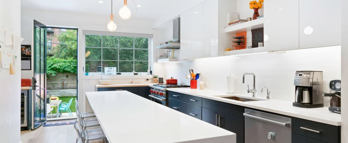 Modern, Bright South Slope Brooklyn Townhouse in Brooklyn Hero Image in South Slope, Brooklyn, NY