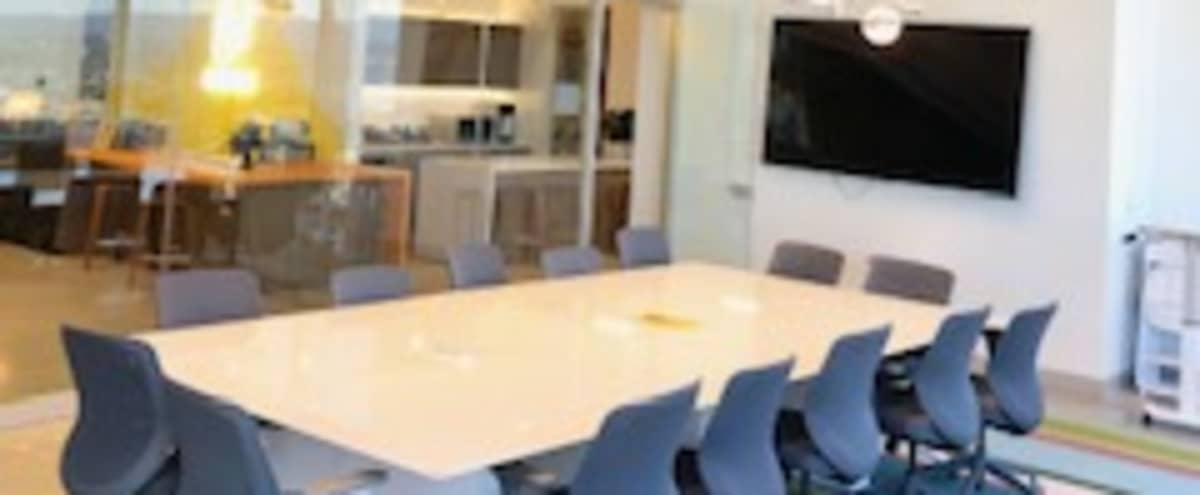 Modern Conference Room - Spectacular 360° Views of Mountains & San Francisco Bay in Foster City Hero Image in Town Center, Foster City, CA